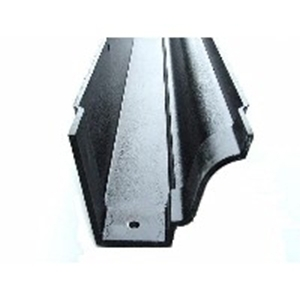 Moulded Ogee Cast Aluminium Guttering